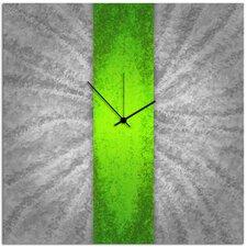 Stripe Metal Wall Clock
