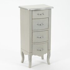 Alston KD Jewelry Armoire with Mirror
