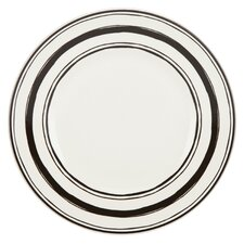 "Around the Table 9"" Stripe Salad Plate"