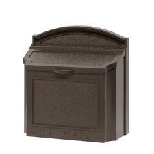 The Large Capacity Locking Wall Mounted Mailbox