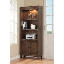 Harrison Flats Door 78 Standard Bookcase by Fairfax Home Collections