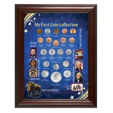Great Beginner's My First Coin Collection Framed Memorabilia