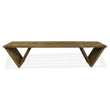 Xquare Eco-Friendly X70 Pine Garden Bench