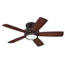 "Contemporary 44"" Cedarton Hugger 5 Blade Ceiling Fan with Remote"