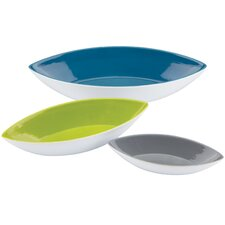 The Burbs 3 Piece Canoe Serving Bowl Set