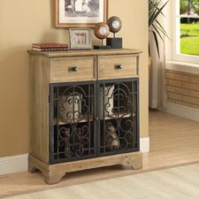 Natural Raw Rustic Accent Table by Infini Furnishings