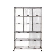 "Urban Homestead Folding 76.25"" H 13 Shelf Shelving Unit"