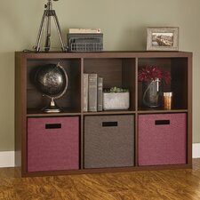 "Decorative Storage 30"" Cube Unit Bookcase"