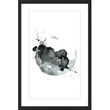 'Cosmic Fire' Framed Painting Print
