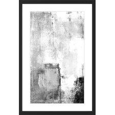 'Deeper Figure' Framed Painting Print