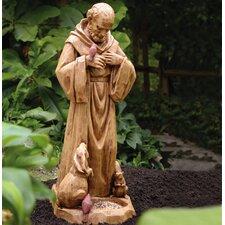 St Francis Statuary Decorative Bird Feeder