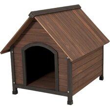 Aspen Pets Ruff Hauz Wood Peak Dog House