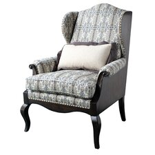 Wing back Chair by Astoria Grand