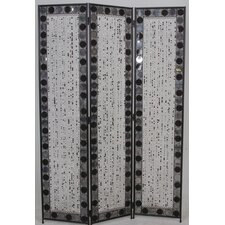 173cm x 120cm Venezia Decorative 3 Panel Room Divider