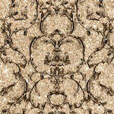 Baroque 10m L x 53cm W Scroll Roll Wallpaper