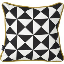 Little Geometry Cotton Throw Pillow