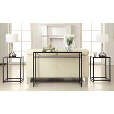 Georgette Classic Glass 3 Piece Console Table Set by Zipcode Design