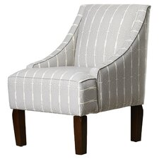 Otwell Swoop Menton Armchair by Alcott Hill