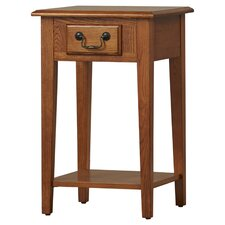 Apple Valley Square End Table by Charlton Home
