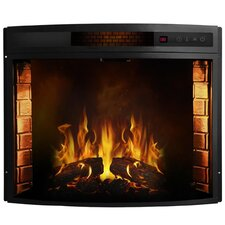 Elwood Curved Electric Fireplace Insert by Moda Flame
