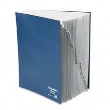 Desk File, 1-31 Index, Letter Size, Acrylic-Coated Pressboard