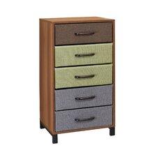 5 Drawer Storage Chest by Household Essentials