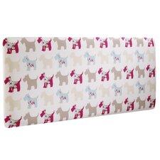 Scottie Dogs Single Panel Headboard