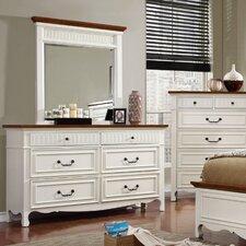 Fyfe 6 Drawer Dresser with Mirror by Astoria Grand