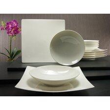 12-tlg. Tafelservice Pure aus Porzellan, für 6 Personen