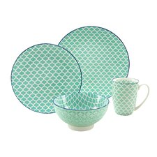 Mediterran 4 Piece Breakfast Set