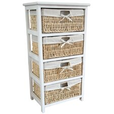 Maize 4 Drawer Cabinet