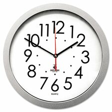 "Flat Rim 14.5"" Wall Clock"