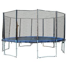 16' 6 Legs Trampoline with Enclosure Net