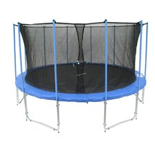 15' Trampoline with Inner Enclosure Net