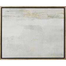'Abstract Elegance' Framed Painting Print on Canvas