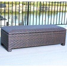 Casarano 30 Gallon Wicker Storage Bench