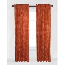Playful Fox Arrows Single Curtain Panel