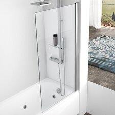 Aurora 150cm x 70cm Pivot Bath Screen