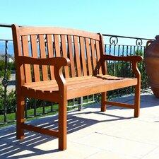 2-Sitzer Gartenbank Malibu aus Holz