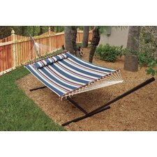 Nantucket Double Quilted Reversible Cotton Camping Hammock