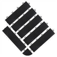 Floor Tile Female Edge Trim (6-Pack) (Set of 6)
