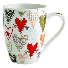 Hearts Mug (Set of 4)