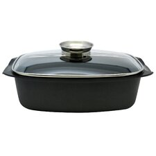 Cast Iron Non-Stick Cookware with Lid