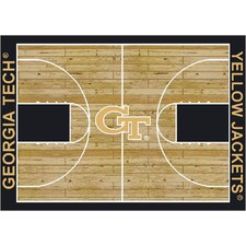College Court Georgia Tech Yellow Jackets Rug