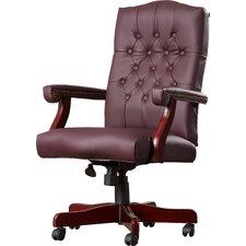 Kirkland High-Back Leather Executive Chair