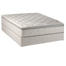 """Orthopedic 10"""" Firm Innerspring Mattress With Box Spring"""