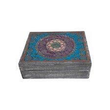 Holzschatulle Mandala