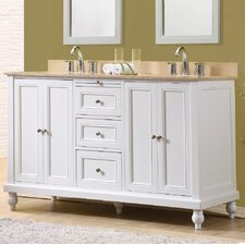 60 Double Vanity Set by J&J International LLC