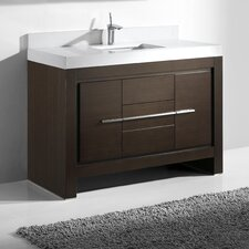 "Vicenza 48"" Single Bathroom Vanity Set"