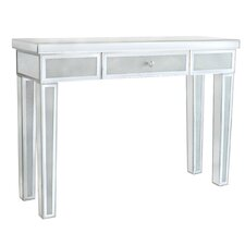 Diamond Crush Console Table by Avalon Lane